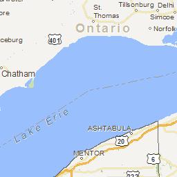 Orwell Ohio Map.Lake And Reservoir Fishing Maps